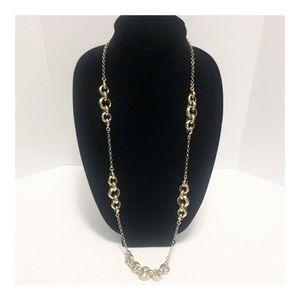 Banana Republic Gold-tone Long Necklace